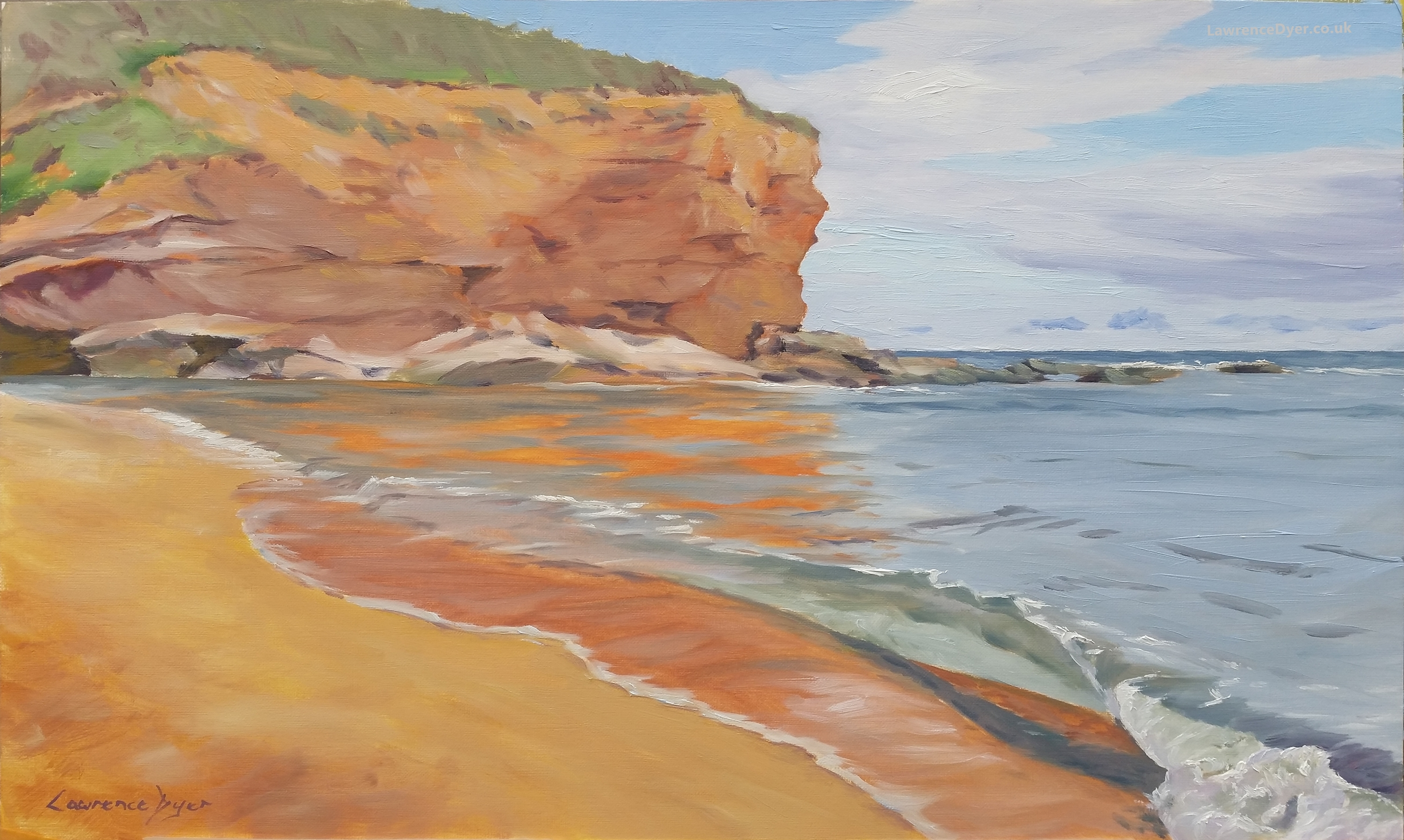 Lawrence Dyer Bliss At Budleigh oils 50x30cm LDBAB131017