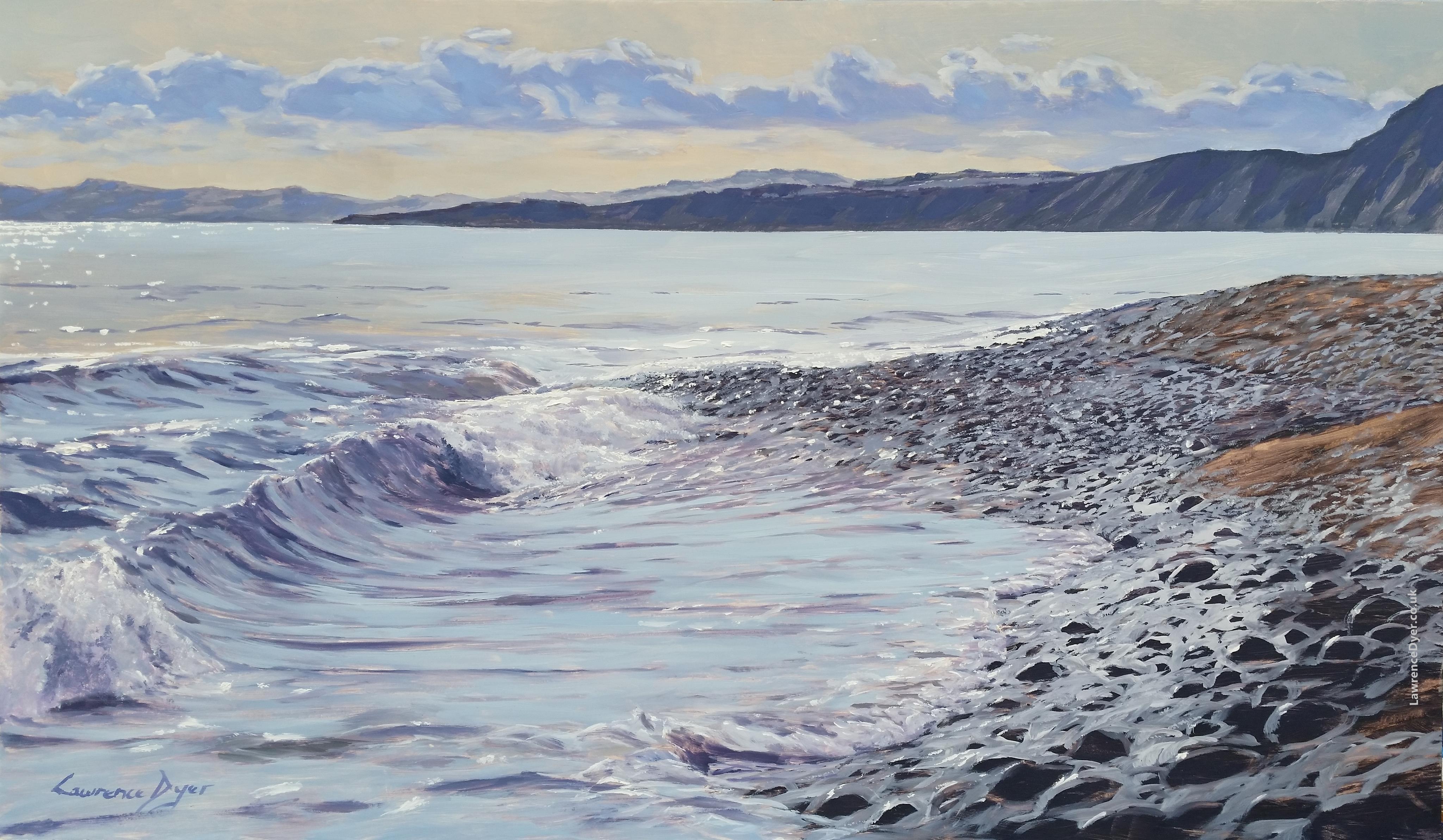 Budleigh Salterton waves