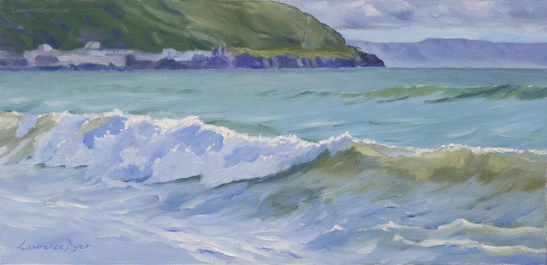 Westward Ho Wave by Lawrence Dyer