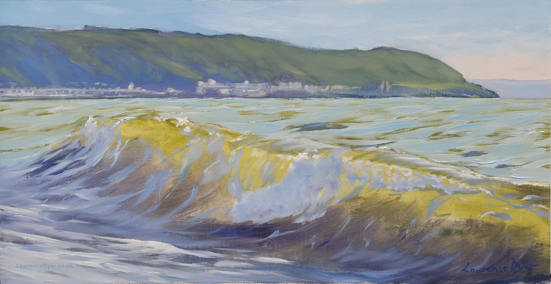 Gathering Wave Westward Ho by Lawrence Dyer