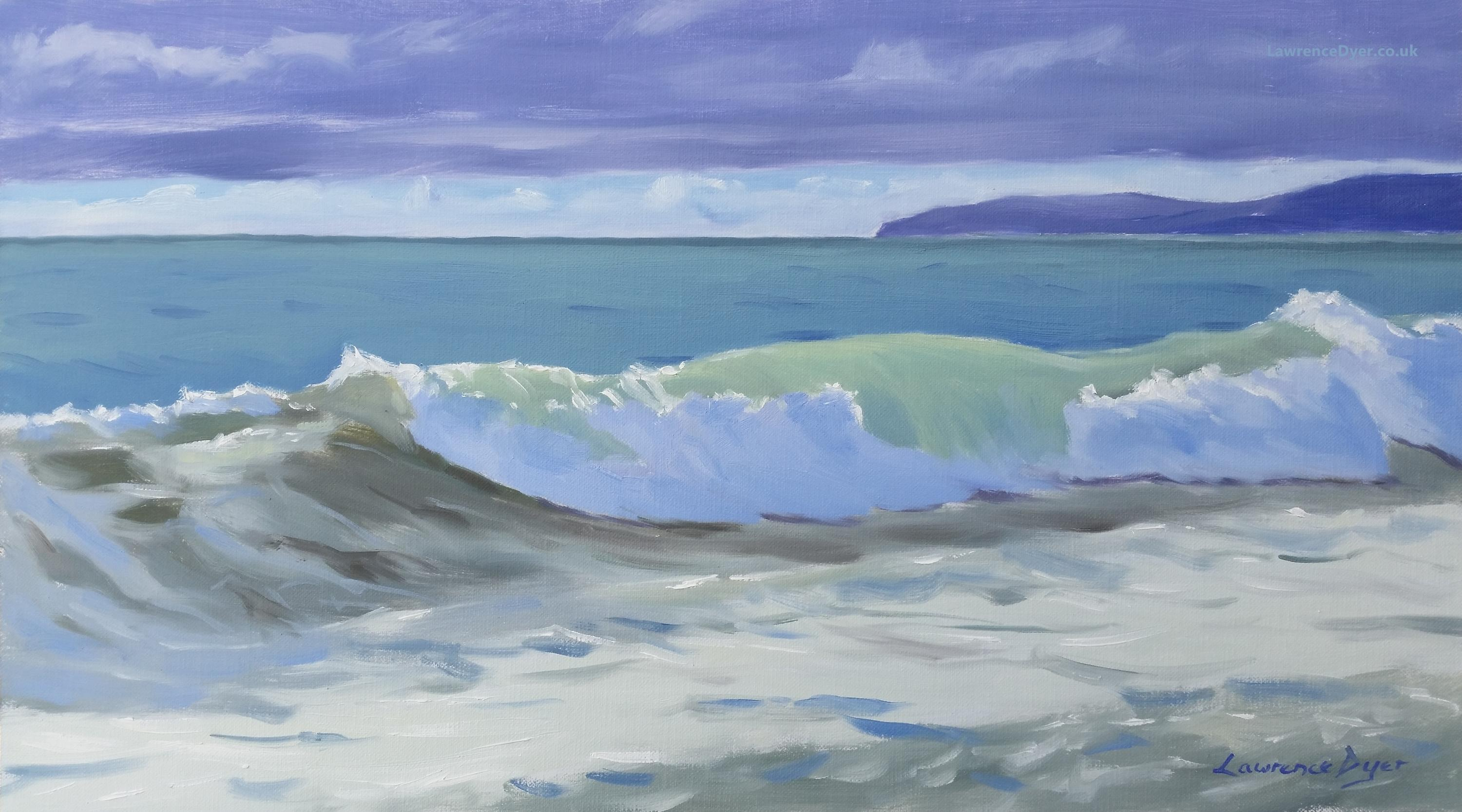 Green Jewel of a Wave by Lawrence Dyer